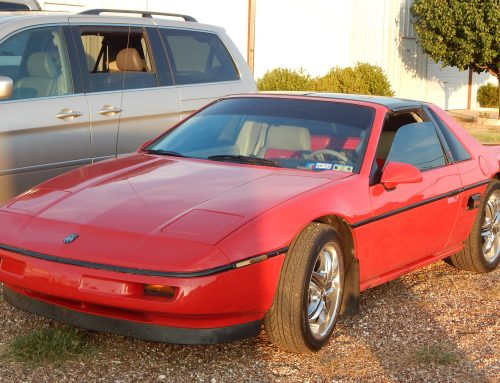 Rare 1984 Pontiac Fiero 2.5l gets a makeover at Granbury Auto AC