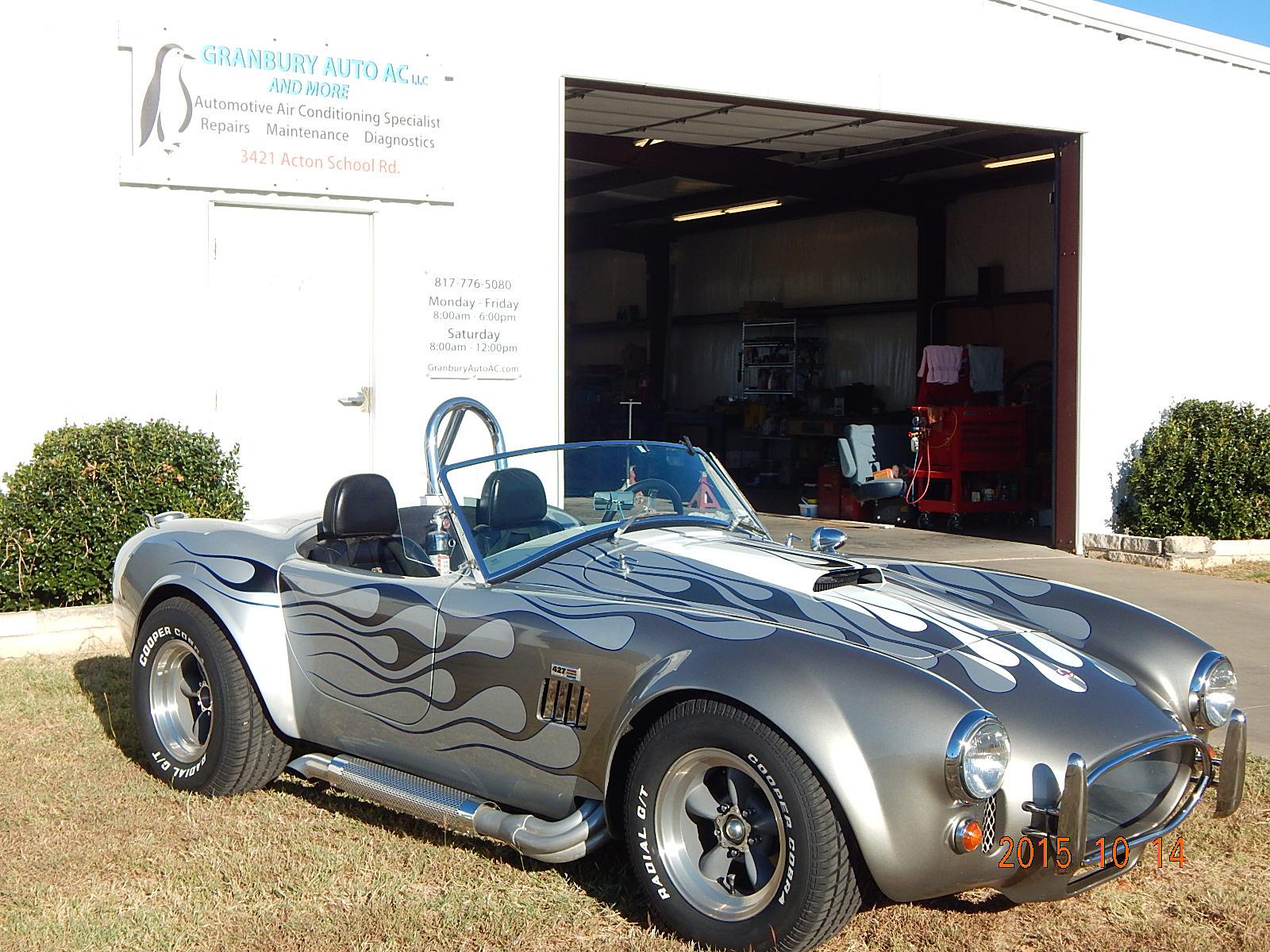 Big Block 1966 Cobra Replica gets a new clutch and more