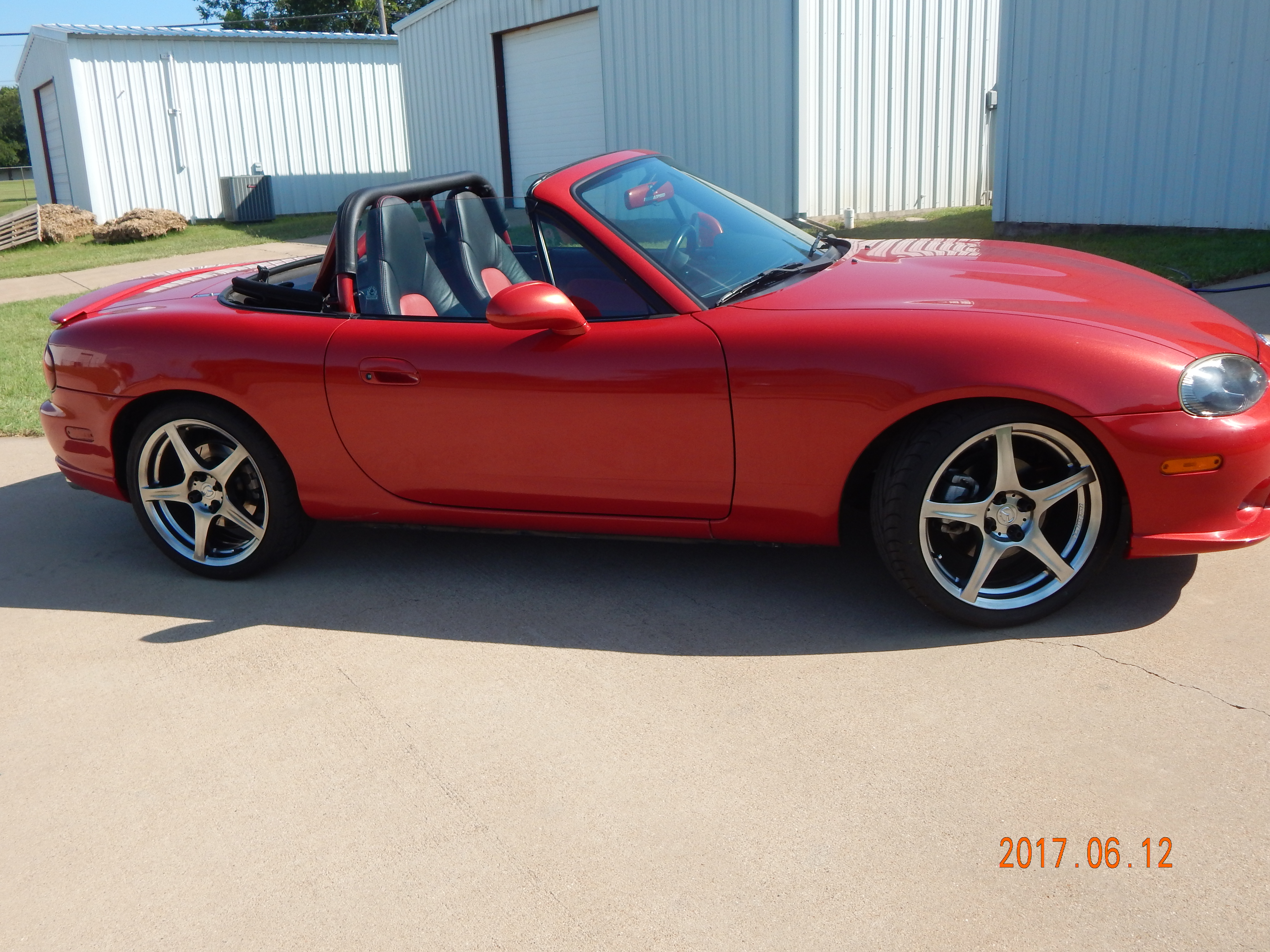 2004 Mazda Speed Miata 1.8l turbo